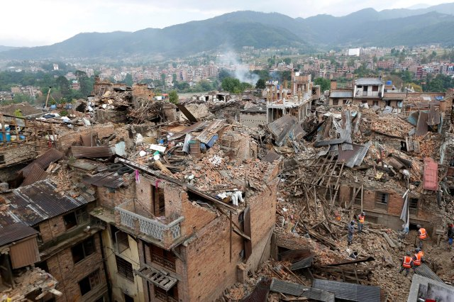 Image: Nepal earthquake